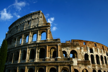 Rom Sehenswürdigkeiten - Amphitheatrum Flavium Triumphis