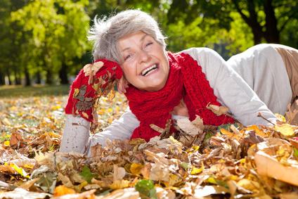 Herbstliche Mode für Damen