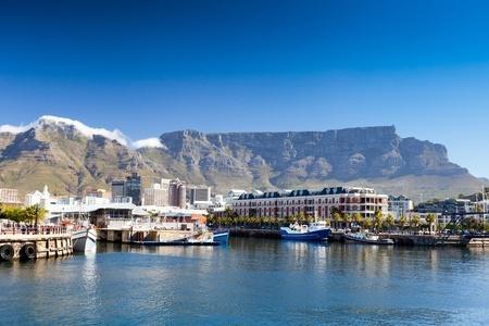 Kapstadt V & A Waterfront und den Tafelberg
